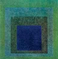 Josef Albers, Hołd dla kwadratu: Riterdando, 1958 r. /Encyklopedia Internautica