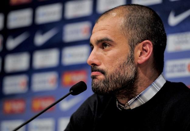 Josep Guardiola, trener FC Barcelona /AFP