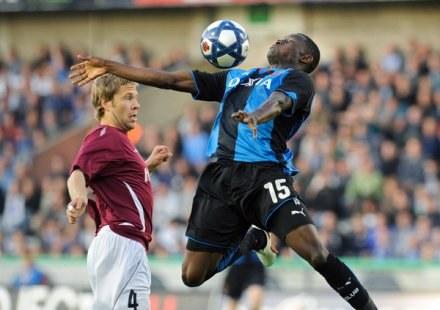 Joseph Akpala zdobył pierwszego gola dla Club Brugge /AFP