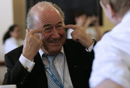Joseph  Blatter jest niekonsekwentny /AFP
