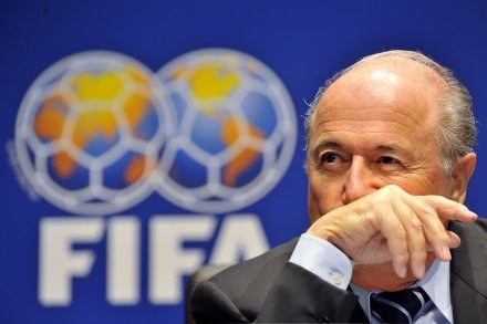 Joseph Blatter, prezes FIFA /AFP