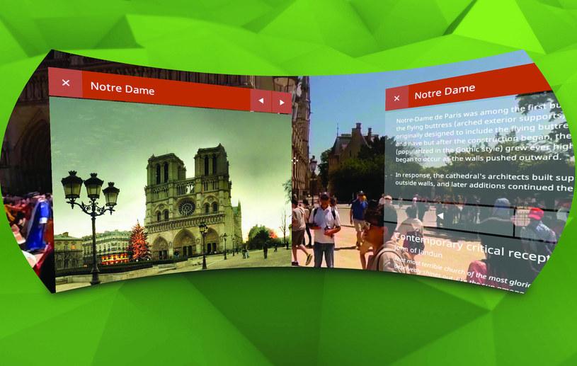 Journey to Paris - wirtualna podróż po stolicy Francji, aplikacja napisana przez polskich programistów /materiały prasowe