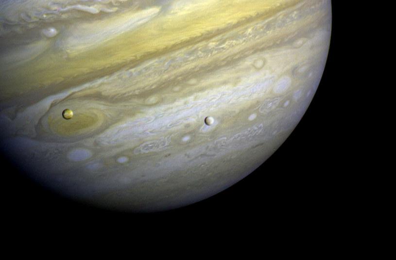 Jowisz ma już 69 księżyców. Wkrótce odkryte zostaną kolejne? /NASA