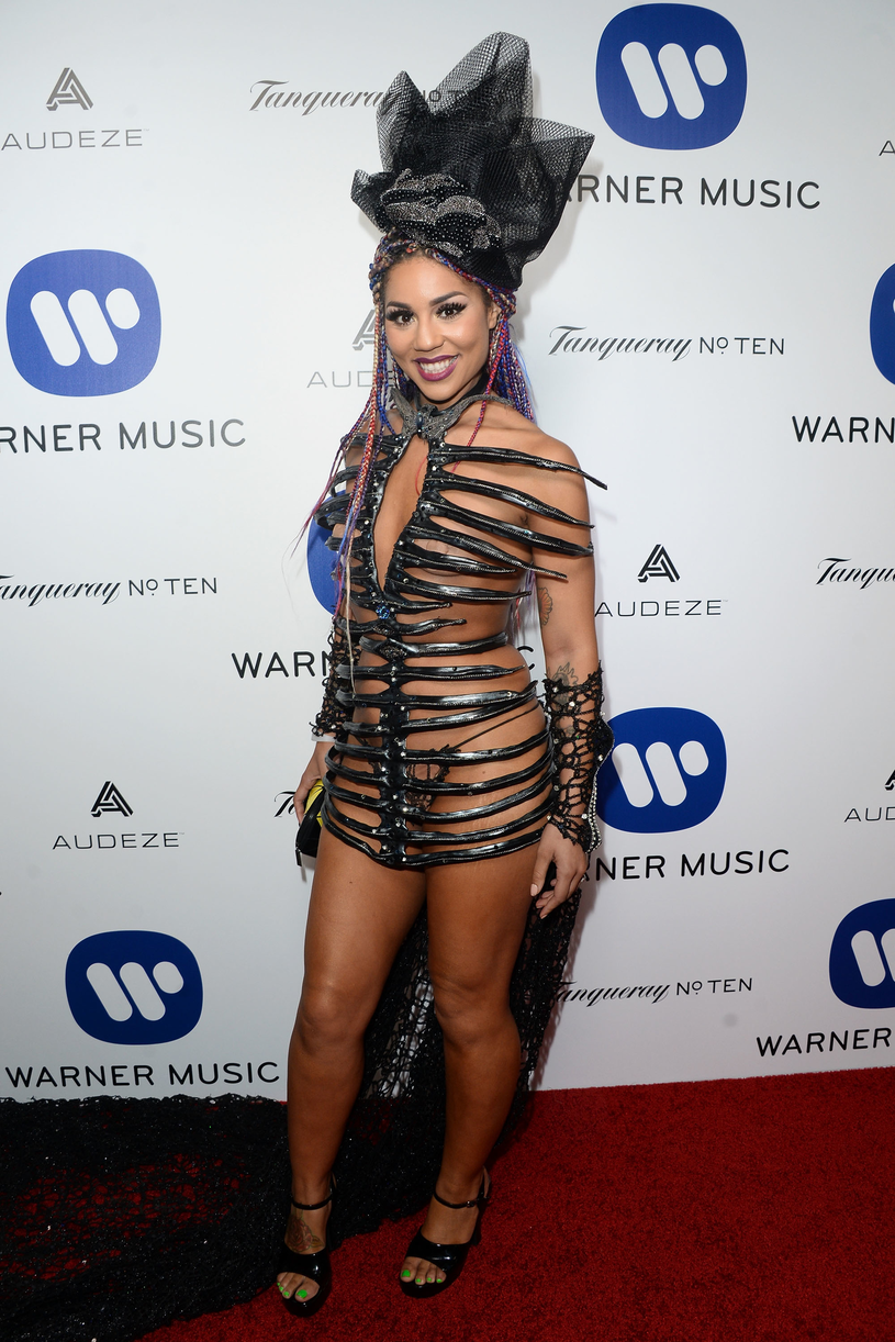 Joy Villa na grali Grammy w 2016 roku /Matt Winkelmeyer /Getty Images