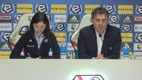 Jozak po meczu Legia - Wisła Płock. Wideo