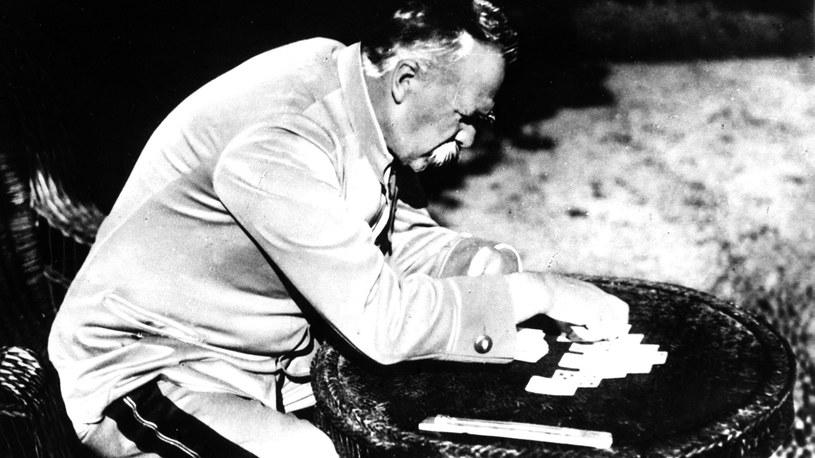 Józef Piłsudski. Lata dwudzieste /CAF - reprodukcja /PAP