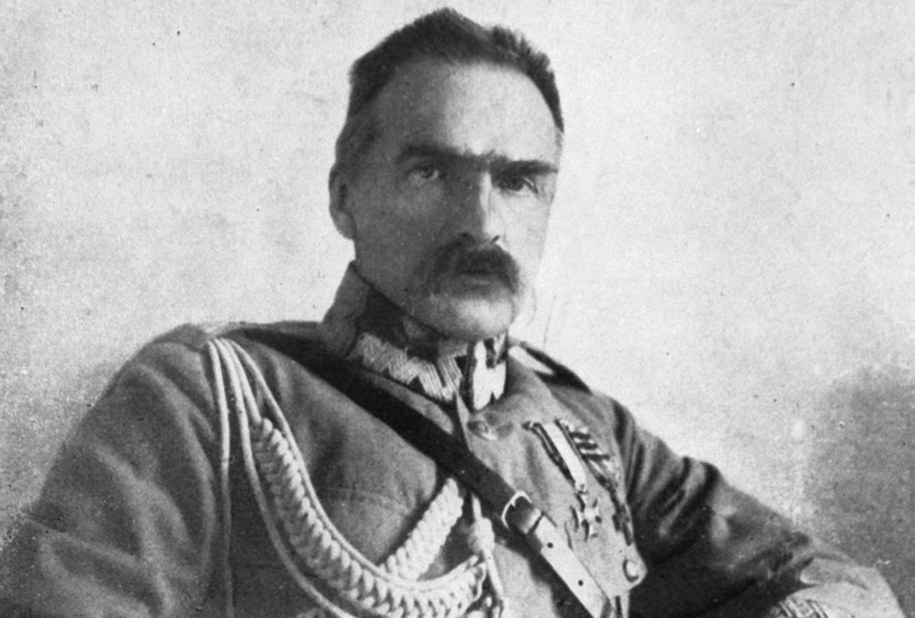 Józef Piłsudski /CAF-reprodukcja /PAP
