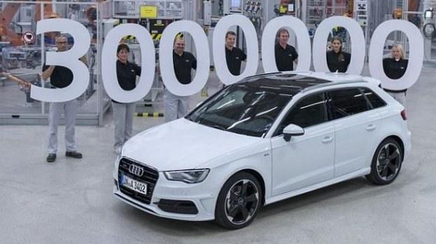 Jubileuszowy egzemplarz to białe Audi A3 Sportback z jednostką 2.0 TDI i napędem quattro. /Audi