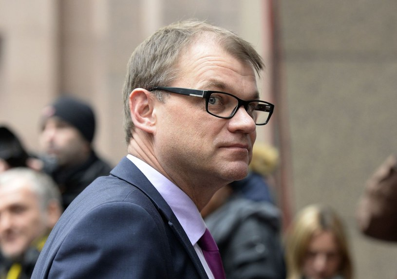 Juha Sipilä - premier Finlandii od maja 2015 roku /AFP