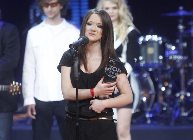 Jula z nagrodą na festiwalu Sopot TOPtrendy /AKPA