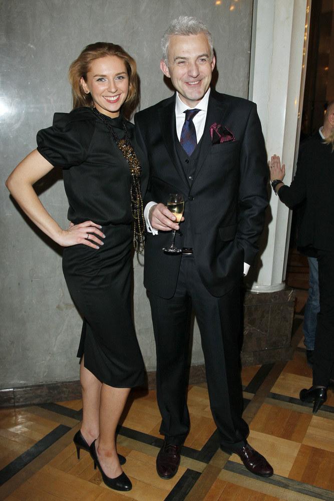 Julia Chmielnik i Hubert Urbański /Wojciech Engelbrecht /AKPA