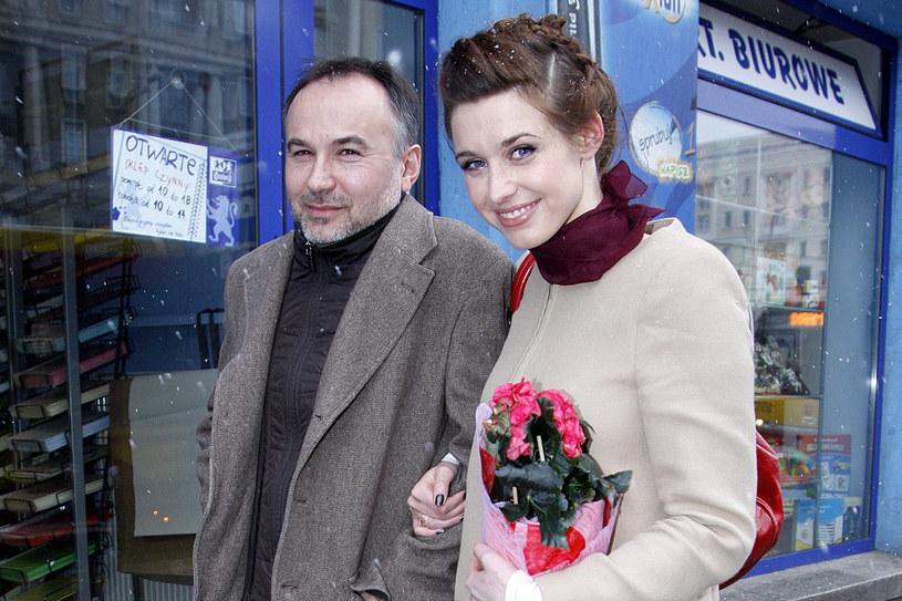 Julia Kamińska z ukochanym /Jordan Krzemińska /AKPA