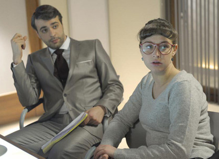 Julia Kamińska zagra w serialu razem ze swoim chłopakiem Lwem Murzenko fot. A.Engelbrecht /AKPA