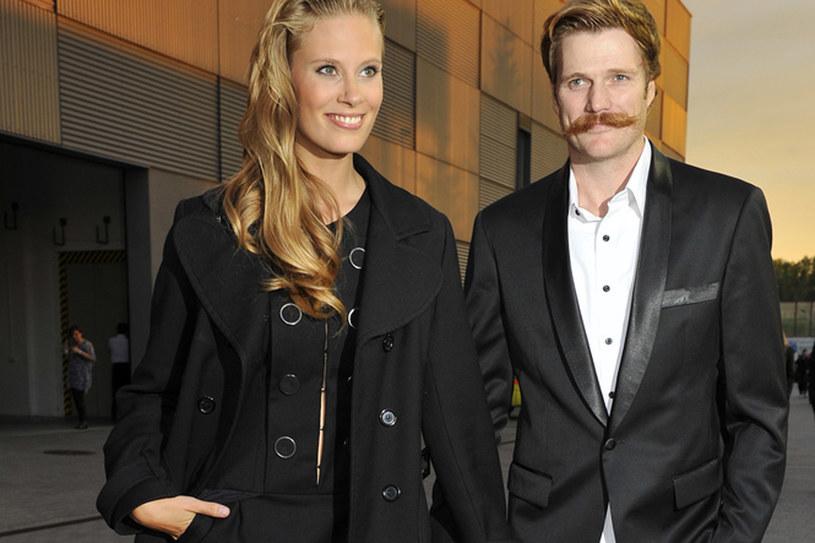 Julia Pietrucha i Ian Dow byli para przez trzy lata /AKPA