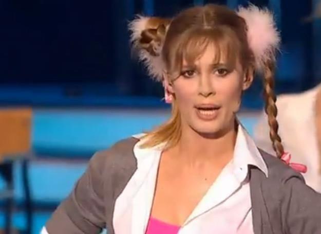 Julia Pietrucha jako Britney Spears /Polsat