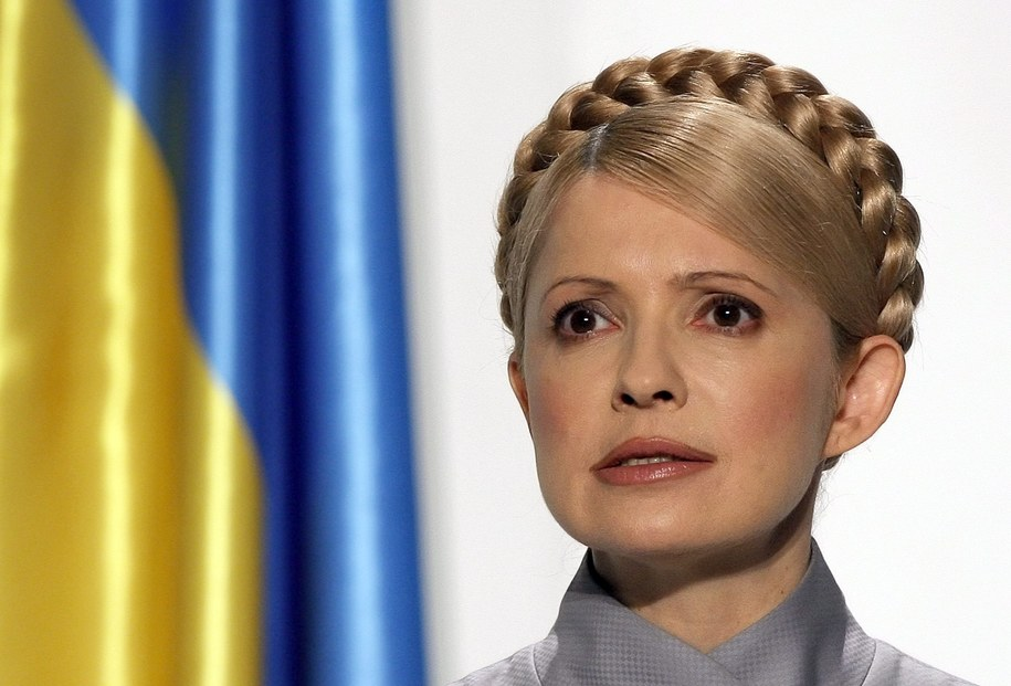 Julia Tymoszenko //SERGEY DOLZHENKO /PAP/EPA