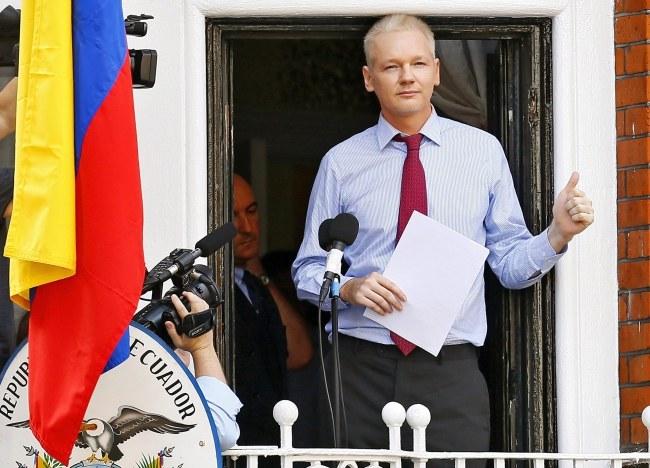 Julian Assange /KERIM OKTEN /PAP/EPA