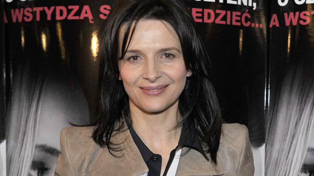 "Juliette Binoche promuje w Warszawie ""Sponsoring"" / fot. Kurnikowski /AKPA"