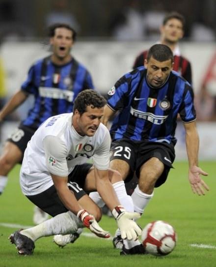 Julio Cesar - cenny gracz Interu /AFP
