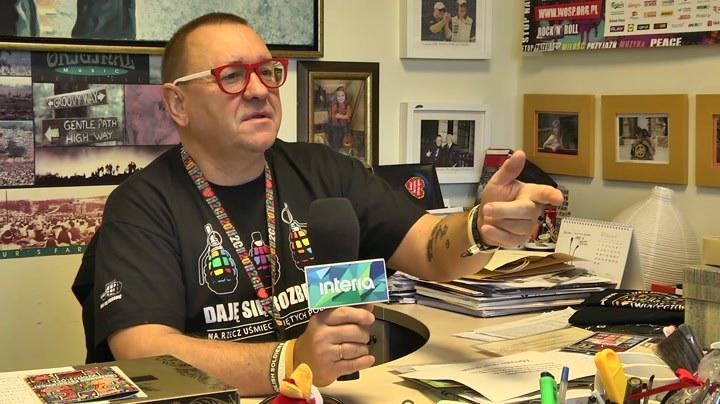 Jurek Owsiak podczas rozmowy z dziennikarzem Interii /INTERIA.PL