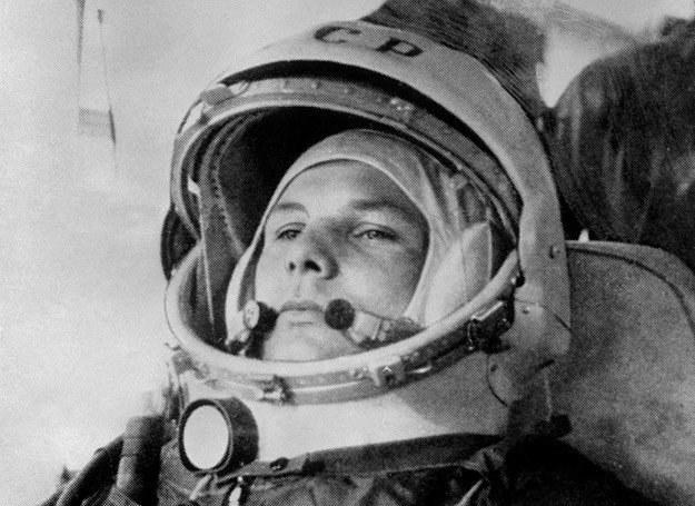 """Jurij Gagarin tuż przed startem statku """"Wostok 1"""" /AFP"""