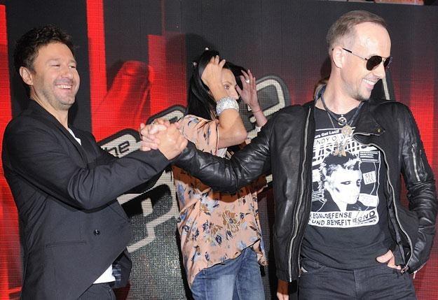 """Jurorzy """"The Voice Of Poland"""" konkurują o najlepsze muzyczne talenty /MWMedia"""