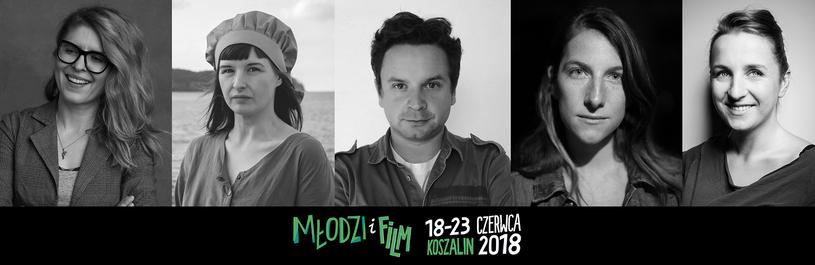 """Jury Konkursu Krótkometrażowych Debiutów Filmowych - """"Młodzi i Film"""" 2018 /materiały prasowe"""