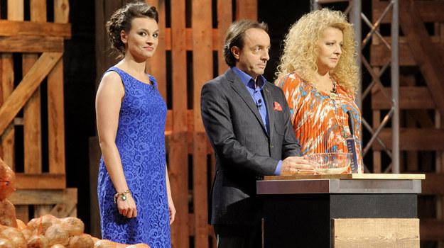 """Jury """"MasterChef"""": Anna Starmach, Michel Moran, Magda Gessler /fot  /AKPA"""