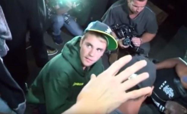 Justin Bieber potrącił fotografa pickupem