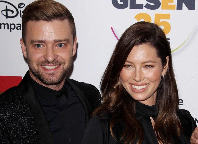 Justin Timberlake i Jessica Biel /Frederick Taylor/Broadimage /East News