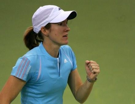 Justine Henin-Hardenne /AFP