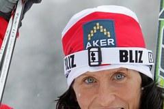 Justyna Kowalczyk druga w Davos