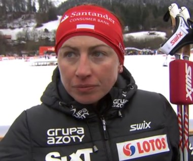 Justyna Kowalczyk: Dziewczyny padają, na zjazdach jest ciężko