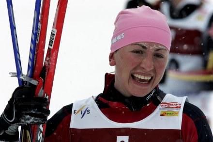 Justyna Kowalczyk ma za sobą udany tydzień /AFP