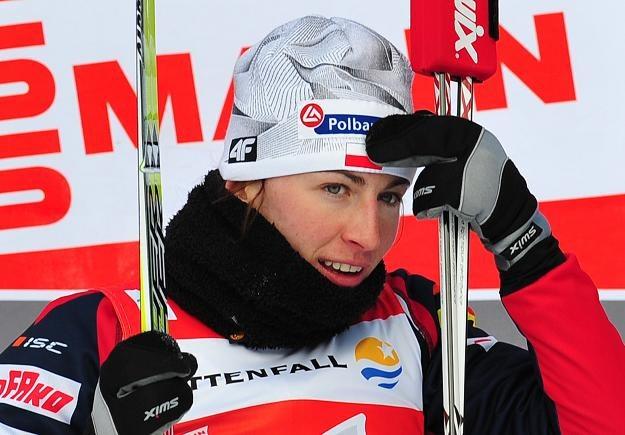 Justyna Kowalczyk nadal jest liderką Tour de Ski /AFP