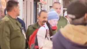 Justyna Kowalczyk powitana na lotnisku Okęcie