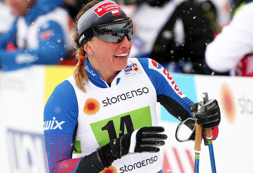 Justyna Kowalczyk w Lahti /Grzegorz Momot /PAP