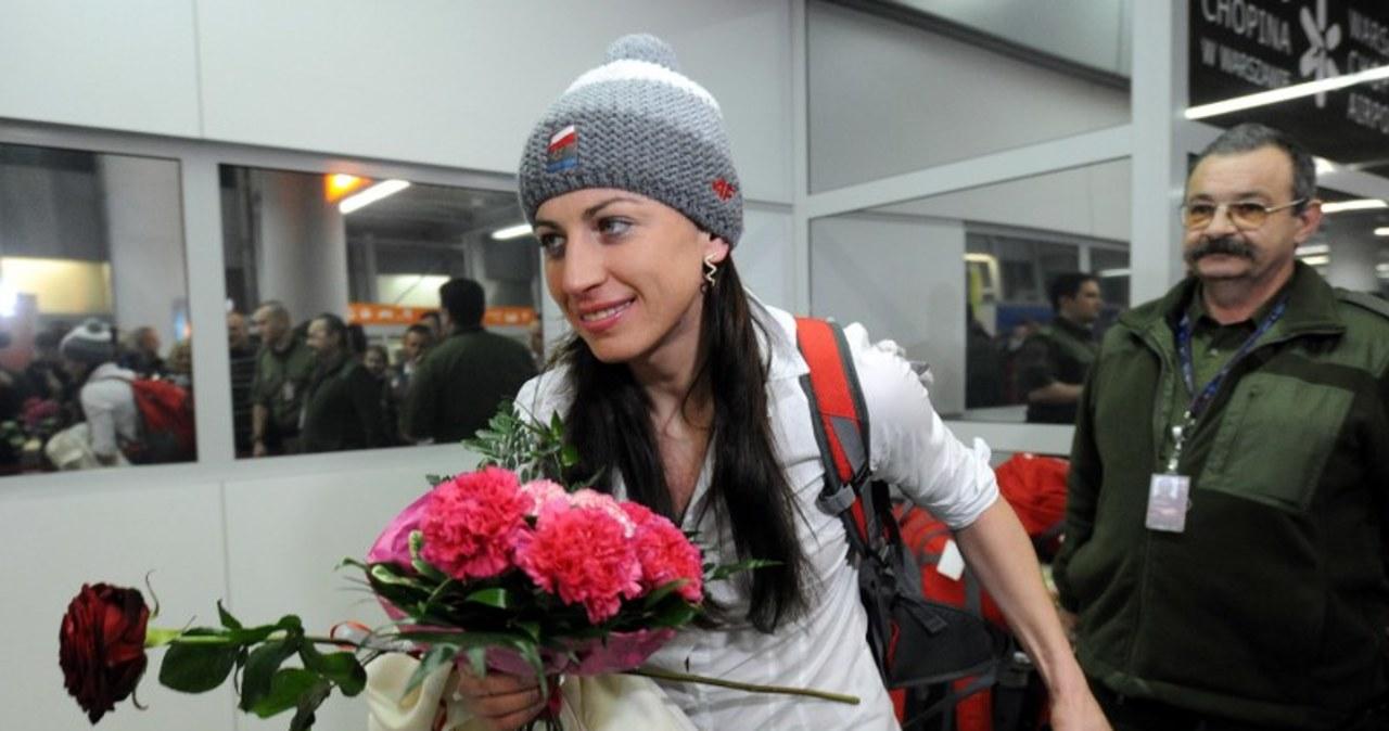 Justyna Kowalczyk wróciła z Soczi do kraju