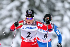 Justyna Kowalczyk wygrywa w Rogli