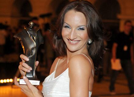 Justyna Steczkowska jest ulubienicą widzów, otrzymała w tym roku Wiktora, fot. Andrzej Szilagyi /MWMedia