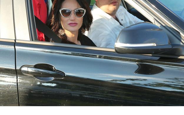 Justyna Steczkowska na razie musi pogodzicć się  z jazdą samochodem jedynie  w roli pasażera /VIPHOTO /East News