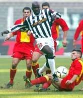 Juve - Lecce 3:0. Przy piłce Liliam Thuram