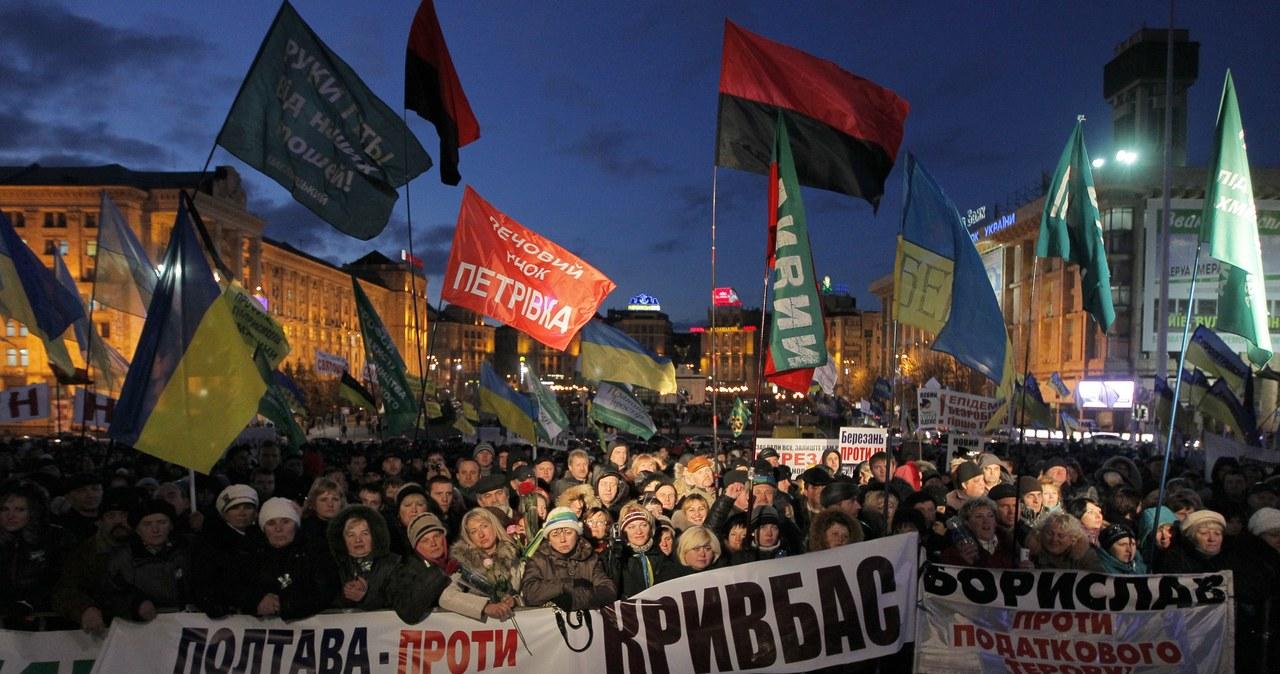 Już szósty dzień trwają protesty przedsiębiorców na Ukrainie
