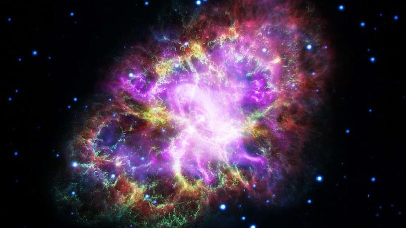 Już wiadomo, co jest źródłem promieniowania X w Mgławicy Kraba /NASA