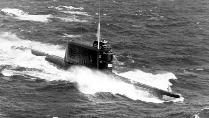 K-129 był sowieckim okrętem podwodnym typu 629A. Zatonął 8 marca 1968 roku. Fot. US Navy /materiały prasowe