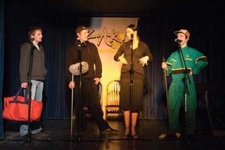 Kabaret Limo na scenie w akcji /materiały prasowe