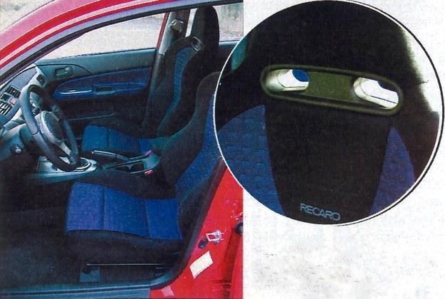 Kabina jest przeciętnie luksusowa, lecz siedzenia Recaro (przystosowane do pasów szelkowych) to najwyższa klasa. /Motor