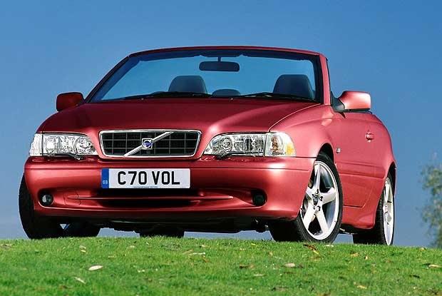 Kabriolet Volvo C70 (kliknij) /INTERIA.PL