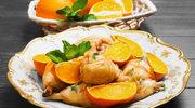 Kaczka w pomarańczach
