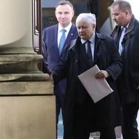 Kaczyński, Gowin i Ziobro. Dziś wspólne wystąpienie liderów Zjednoczonej Prawicy